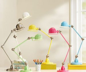 Colorful task lamps for your desk