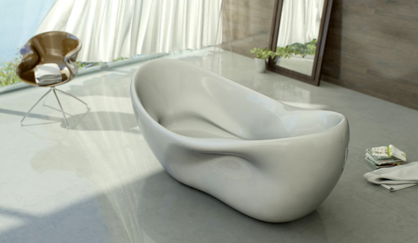 most comfortable freestanding tub. View In Gallery Delicate Charm Bathtub