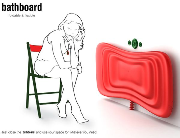 Beautiful Innovative Bathboard For Small Spaces Nice Design