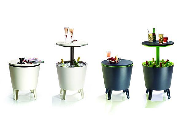 useful outdoor bar by keter. Black Bedroom Furniture Sets. Home Design Ideas