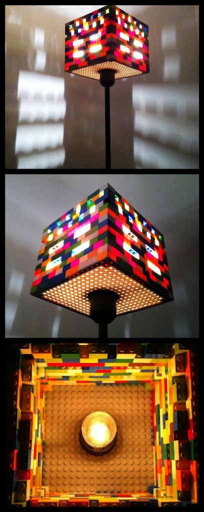 LEGO lighting fixture
