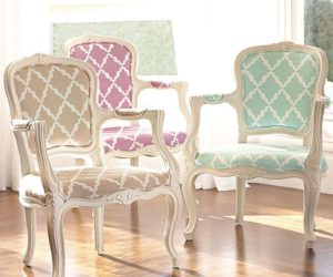 Add A Vintage Parisian Style With Lattice Ooh La La Armchair