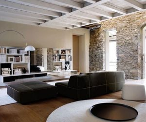 House Interior Designed in Lombardy,Italy