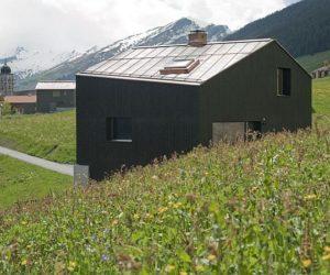 The Lumbrein Residence in Graubunden, Switzerland