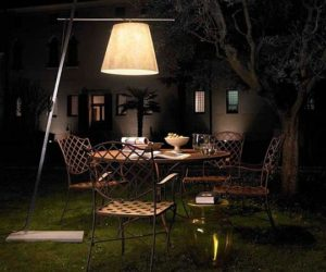 Miami outdoor lighting solution by Giordana Arcesilai