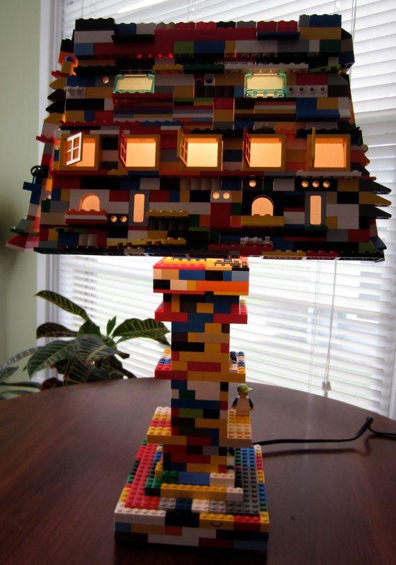 Moomdapple lego lamp
