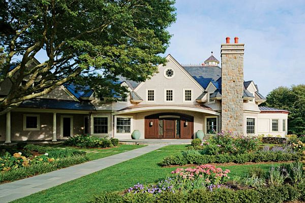 majestic home featuring a timeless design in newport