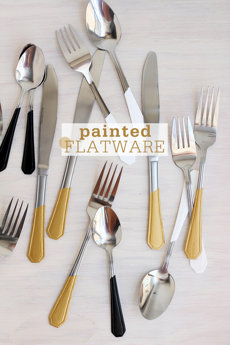 Painted flatware