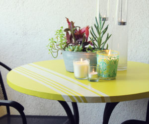 5 DIY Cocktail Table Designs Perfect For Your Patio