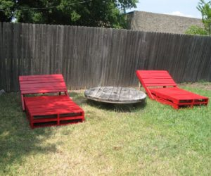pool chairs from pallets - Garden Furniture Using Pallets