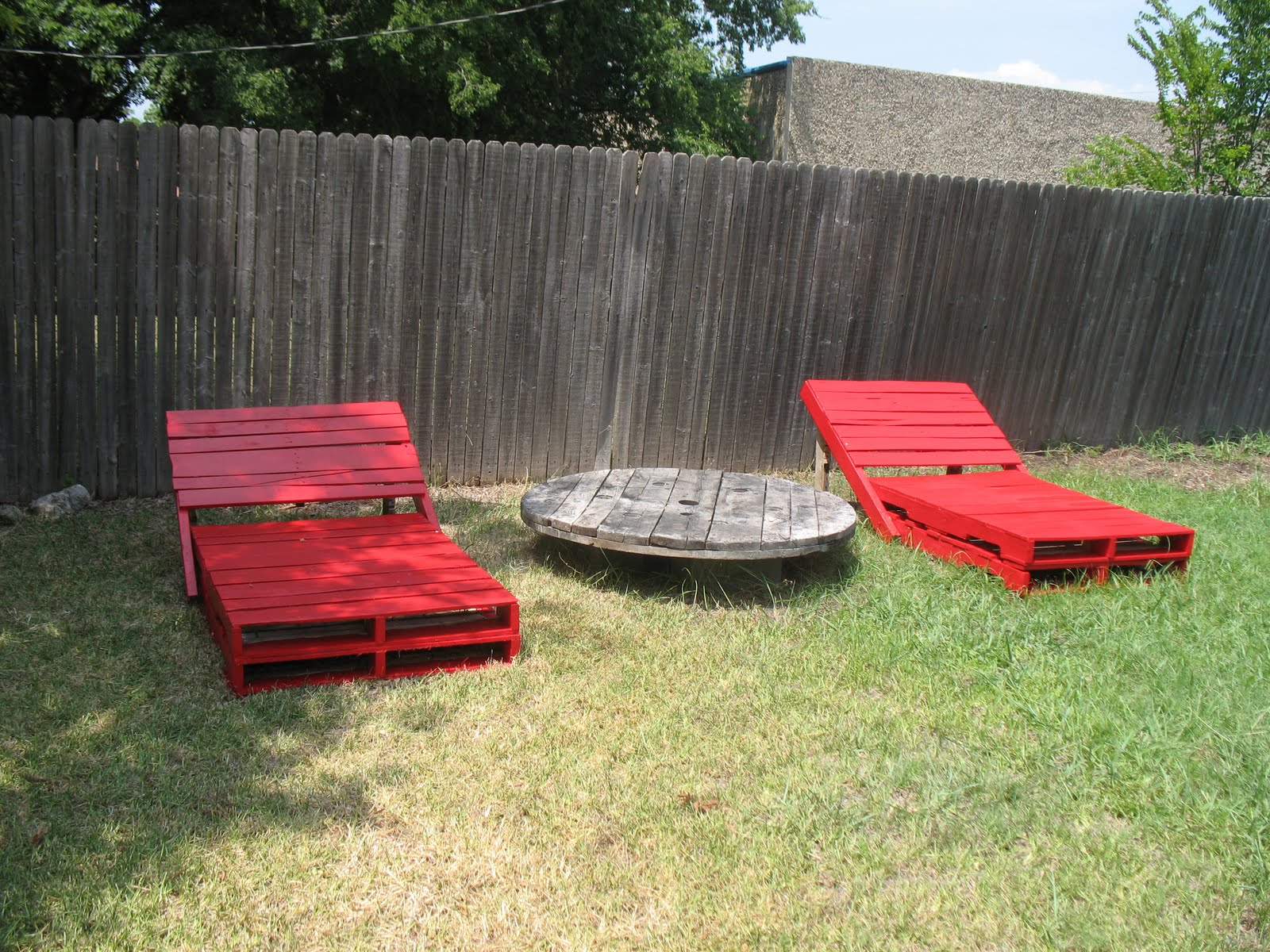 Outdoor Pallet Lounger. Pool Chairs From Pallets Part 53