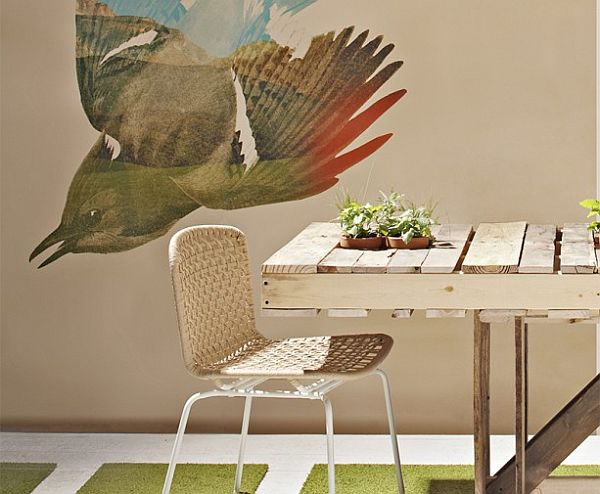 Recycled-Wood-Dining-Table-from-pallet