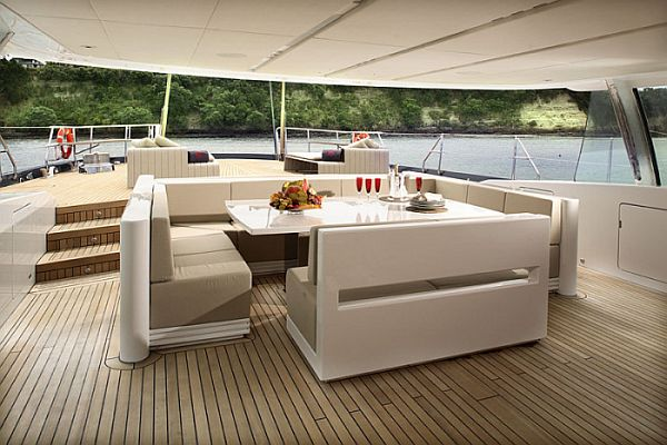 The Red Dragon - A Luxury Dream Yacht Interior Design