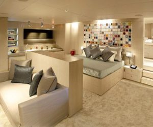 The Red Dragon – A Luxury Dream Yacht Interior Design