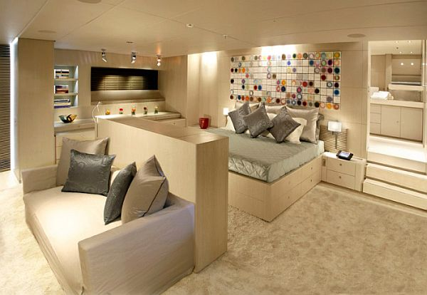 Yacht Interior Design the red dragon - a luxury dream yacht interior design