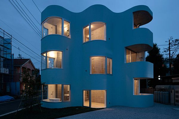 Smg Apartments Building In Tokyo By Mejiro Studio
