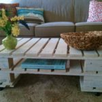 How to make a coffee table from pallets