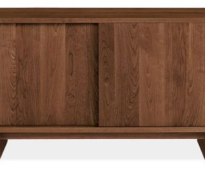 ... Anders 56w Sliding Door Media Cabinet