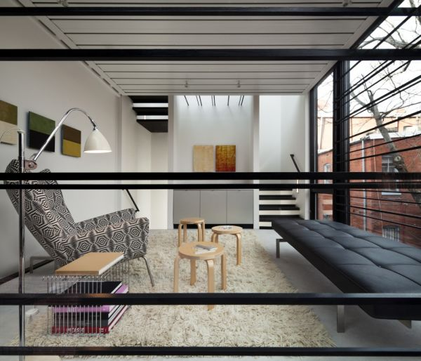 Small Space, Big Style - The Barcode House