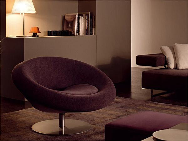 View In Gallery. The Moon Armchair ...