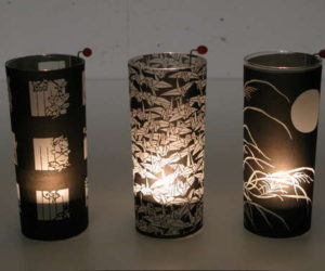 Attractive DIY Tea Light Lamps