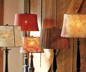 Vintage Tess Floral lamp shades