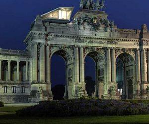 Cube Pavilion Restaurant On Parc Du Cinquantenaire In Brussels