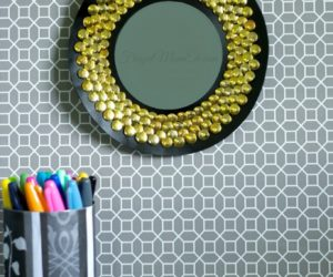 How To Craft a Sunburst Mirror Frame Using Simple Everyday Objects