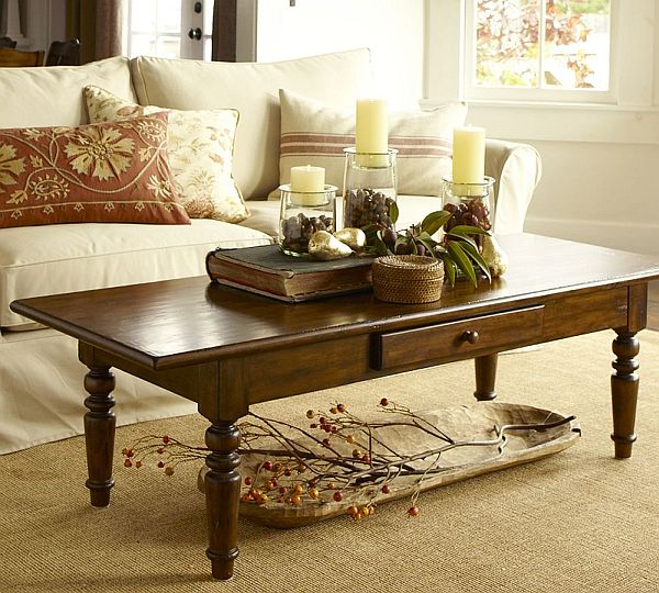 Decorate With Style 16 Chic Coffee Table Decor Ideas: Elegant Tivoli Coffee Table