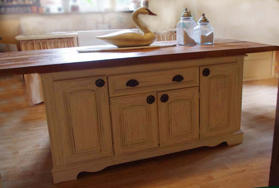 Turn An Old Dresser Into A Kitchen Island