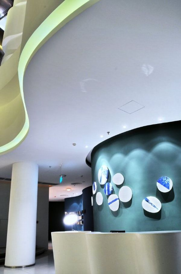 Perfect Universe Themed Spa By PAL Design Idea