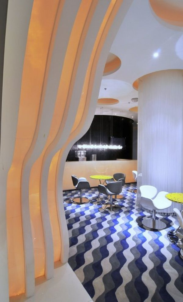 Good Universe Themed Spa By PAL Design Amazing Pictures