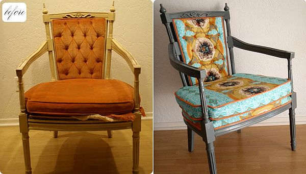 28 Before After Reupholstered Chairs