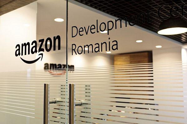 Visiting the Amazon headquarters in Iaşi, Romania