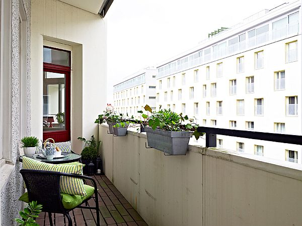 White Balcony Furniture · View In Gallery