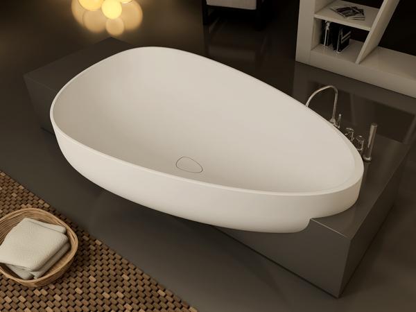 Beyond Egg Shaped Bathtub By Claudia Danelon And Federico Meroni
