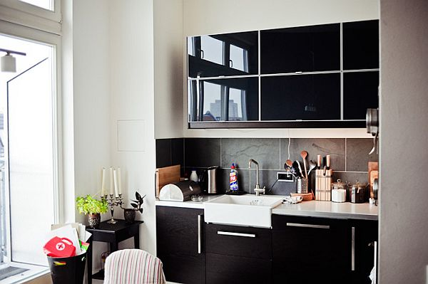 Black Kitchen Design Ideas