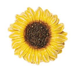 Sunflower Drawer Knob for the Kids