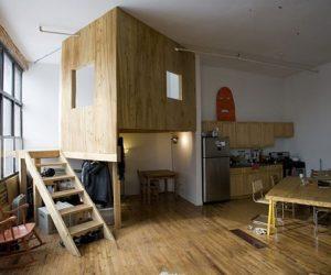 A Cabin in a Loft in Brooklyn