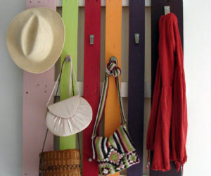 How To Upcycle A Wooden Pallet Into A Coat Rack – 7 Ideas