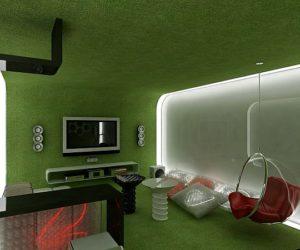 A Future Perspective over Interior Design by Geometrix