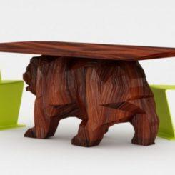 Impressive Bear Table