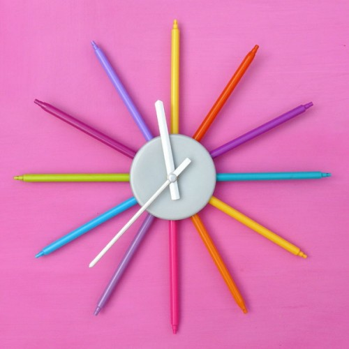 Diy Kitchen Clock Ideas
