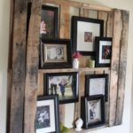 Pallet wall pictures displasy