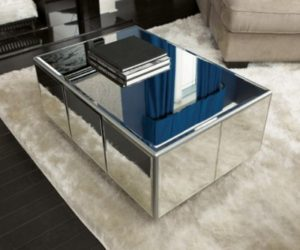 How To Decorate With Mirrored Coffee Tables
