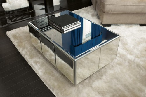 mirror table. mirror table