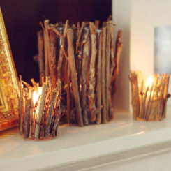 How To Creatively Use Twigs In Home Décor