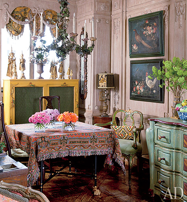 Iris Apfel S New York Home Interior Design