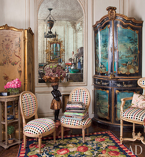 Iris Apfel's New York Home Interior Design