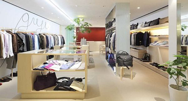 Exceptional Fashion GUji OSAKA Shop Interior Design In Osaka